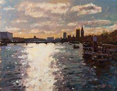 Bruce Yardley -  Thames Contre-Jour