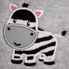 {Downloaded Under- LP-Baby_Zebra4x4.zip K.H.} Good vs Bad: Anatomy of a Quality Embroidery Design