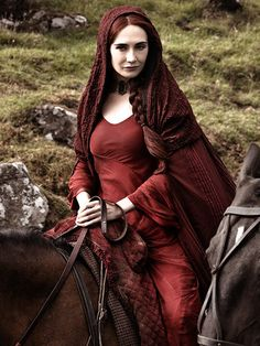 Melisandre Costume: Game of Thrones Payment 1 by cleighcreations