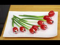Angie et les recettes de violetta - Tulipes tomate - YouTube