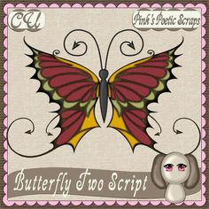 Butterfly 2 Script, template also available.