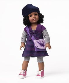 Another great find on #zulily! Cap 'n' Stripe Interchangeable Wig 18'' Doll by Madame Alexander #zulilyfinds