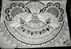 #myownwork #art #mandala #psyho #lotus #meditation #рисунка #мояработа #цветок #flower #relax  #chakra #meditation  #peace #love #art #psychedelicart #trippy #visionary #spiritual #psychedelic #philosophy #psychology #tattoo #тату