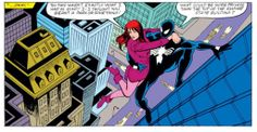 Remembrance of Comics Past: Amazing Spider-Man Annual Spectacular Spider Man, Amazing Spider, Marvel Comics Art, Marvel Dc, Comic Art, Comic Books, Mary Jane Watson, Black Spider, Book Of Life