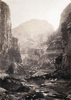 William Bell, Kanab Wash, Colorado River, Looking South, 1872