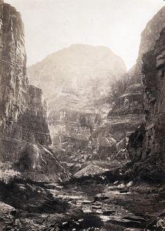 William Bell, Kanab Wash, Colorado River, Looking South, 1872