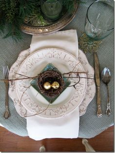Nest Table Setting