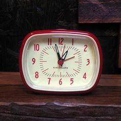 A great cool gift for someone who needs a little reminding about waking up but with this retro alarm clock in red it will also add to their decor. It's $19 from A Merch Brooklyn.