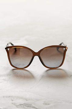 26d984d11b8 Jimmy Choo Tatti Sunglasses Brown One Size Eyewear