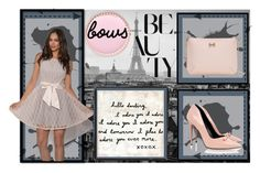 """Beautiful Bows"" by christyshawn on Polyvore featuring Raoul, Ted Baker, iittala, Nails Inc. and Sugarboo Designs"