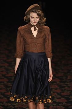 Lena Hoschek - Autumn/Winter 2012