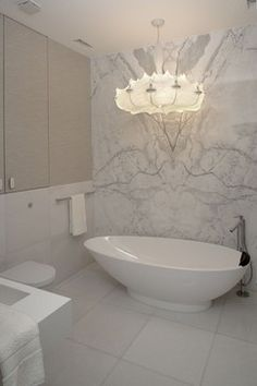 Bright aparment - contemporary - bathroom - Exit - Interior design