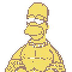 pixel art en perle hama: à réaliser soi même