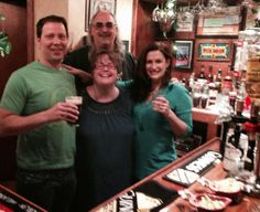 Day 72 #100HappyDays Happy St. Patrick's Day from our friend's Pub! #stpatricksday #party