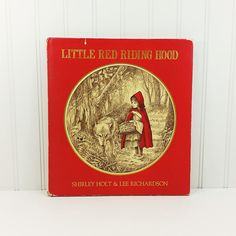Little Red Riding Hood Shirley Holt & Lee Richardson 1985 1st