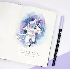 43 Bullet Journal Monthly Cover Page Ideas That'll Leave You Inspired - The Thrifty Kiwi