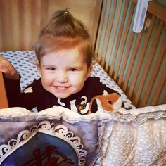 Silver polka dot crib Sheet and beautiful baby girl doll quilt ♡
