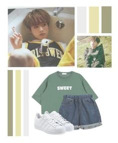 """""""Jeon JungKook"""" by ❤ Bts Inspired Outfits, Disney Inspired Fashion, Disney Fashion, Dance Outfits, Girl Outfits, Cute Outfits, Kpop Fashion Outfits, Korean Fashion Kpop Bts, Disney Bound Outfits"""