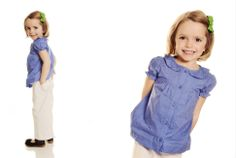 www.frostedproductions.com | #utah #photographer #studio #photography #white #backdrop #ideas #for #child #portraits #cute #preppy #outfit #for #little #girls