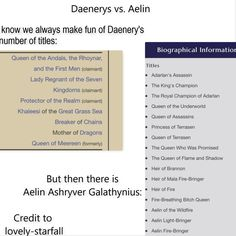 What makes it even funnier is the fact that not all of aelin's titles are there.