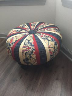 Little Miss Muffet wont be sitting on this tuffet...but you can! Tuffets are a new furniture trend that elevate the common ottoman to a