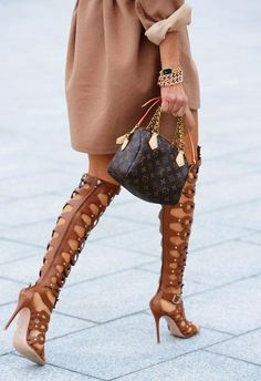 She's So Chic! Beautiful Finds From Around The Web! : How to rock those Gladiator Sandals this Spring