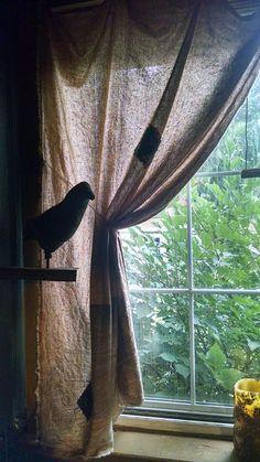 105 Best Primitive Window Treatments Images In 2019