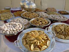 gâteaux spécialité  marocaine اشهر الحلويات المغربية .. كعب الغزال .. غريبه .. و غيرها