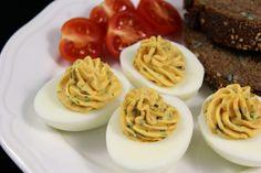 gefüllte Eier mit Sardellen Rezept