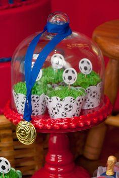 Detalhe Cupcakes Medalha