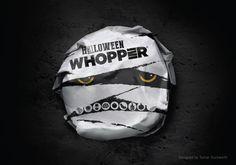 Burger King Halloween Packaging. Designed by Turner Duckworth.