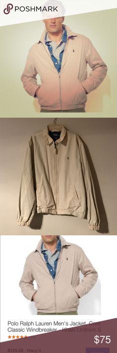 Ralph Lauren jacket Machine washable khaki Ralph Lauren jacket Polo by Ralph Lauren Jackets & Coats