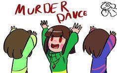 Undertale Gif - Murder Dance by lFrisk on DeviantArt Undertale Gif, Undertale Ships, Chara, Sans E Frisk, Party Hard, Undertale Pictures, Underswap, Fandoms, The Villain