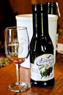 Village Winery is known for their Elderberry products including a sparkling wine, syrup, and vinaigrette.