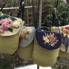 Carpet Bag, Tapestry Bag, Diy Handbag, Jute Bags, Boho Bags, Upcycled Crafts, Fabric Bags, Vintage Purses, Small Bags