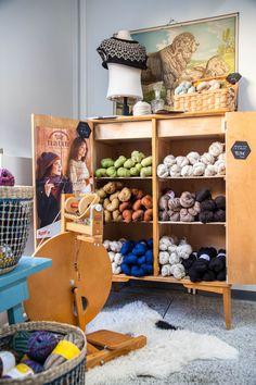 Tampereelle on avattu uusi lankakauppa Kalevaan, joka kantaa nimeä Nurja!
