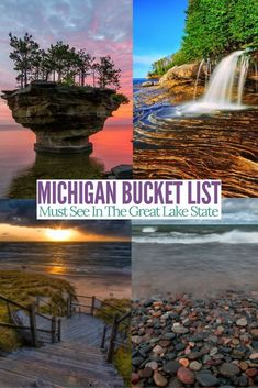 Things To Do In Michiganamazing Sites To See In Michigan ~ dinge, die man in michigan unternehmen kann. sehenswerte orte in michigan Things To Do In Michiganamazing Sites To See In Michigan ~ camping Design Michigan Vacations, Michigan Travel, Camping Michigan, Michigan Day Trips, Lakes In Michigan, Holland Michigan, Midwest Vacations, Higgins Lake Michigan, Sault Ste Marie Michigan