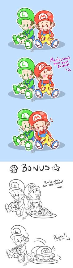 SMB | Best Friend by MynnuB.deviantart.com on @DeviantArt