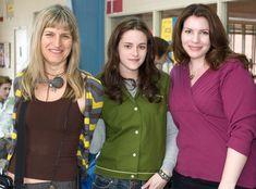 Catherine Hardwicke, Kristen Stewart & Stephenie Meyer on the set of Twilight