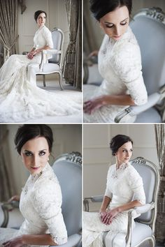 This is perfect and beautiful if only the sleeves were see through lace :)