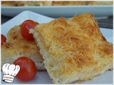 ΤΥΡΟΠΙΤΑ ΜΕ ΦΥΛΛΟ ΚΑΤΑΙΦΙ ΚΑΙ 4 ΤΥΡΙΑ!!! - Νόστιμες συνταγές της Γωγώς! Family Meals, Family Recipes, T 4, Dairy, Favorite Recipes, Bread, Cheese, Cooking, Ethnic Recipes