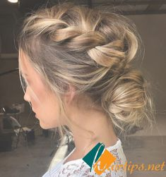 Who Said only Long Blonde Hair can Feature Elegant Hairstyles!