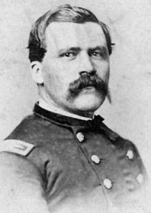 Eli Long - US Colonel. He was in overall command of the US Cavalry forces fighting at Snow Hill: and Ohio Cavalry regiments. American Pride, American Civil War, Selma Alabama, Civil War Art, Union Army, Vintage Photographs, Vintage Photos, Civil War Photos, Armed Forces
