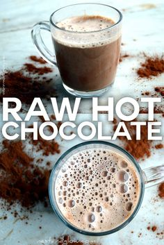 Here s an easy recipe for raw hot chocolate It takes only minutes and is raw dairy free gluten free vegan and sweetened just by dates Give this warm comforting drink a try on these cold Christmas nights healthy chocolate vegan glutenfree raw nestandglow # Hot Chocolate Recipe Vegan, Cacao Hot Chocolate, Sugar Free Hot Chocolate, Healthy Hot Chocolate, Cacao Recipes, Raw Vegan Recipes, Vegan Desserts, Healthy Recipes, Vegan Raw