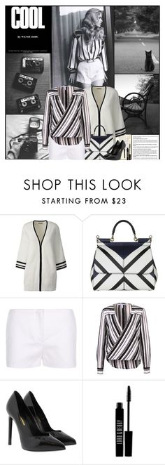 """""""Cool"""" by kittyfantastica ❤ liked on Polyvore featuring Lands' End, Dolce&Gabbana, Yves Saint Laurent and Lord & Berry"""