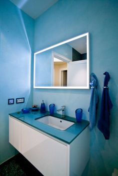 Foto di bagno in stile in stile minimalista : interni svizzera #1   homify