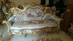 Sofa kit from H seat doctrine foil gold