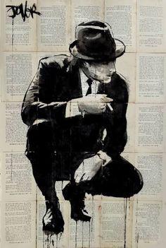 "Saatchi Art Artist Loui Jover; Drawing, ""good fella"" #art"
