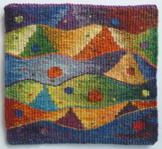 Weaving Art, Tapestry Weaving, Small Tapestry, Contemporary Tapestries, Crochet Mouse, Loom, Artisan, Kids Rugs, Quilts