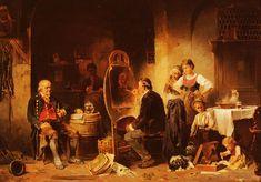 Anton Seitz, The Portrait Painter (Germany)